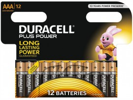 Pila Duracell AAA - Pack 12