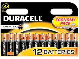 Pila Duracell AA - Pack 12