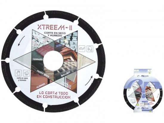Disco Diamante Metal Xtreem-II
