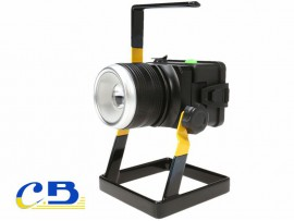Foco Led 30W Recargable con Base
