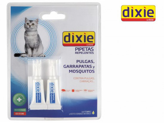 Dixie Pipetas Gatos